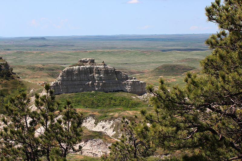 Window Rock at Battleship Rock South Dakota