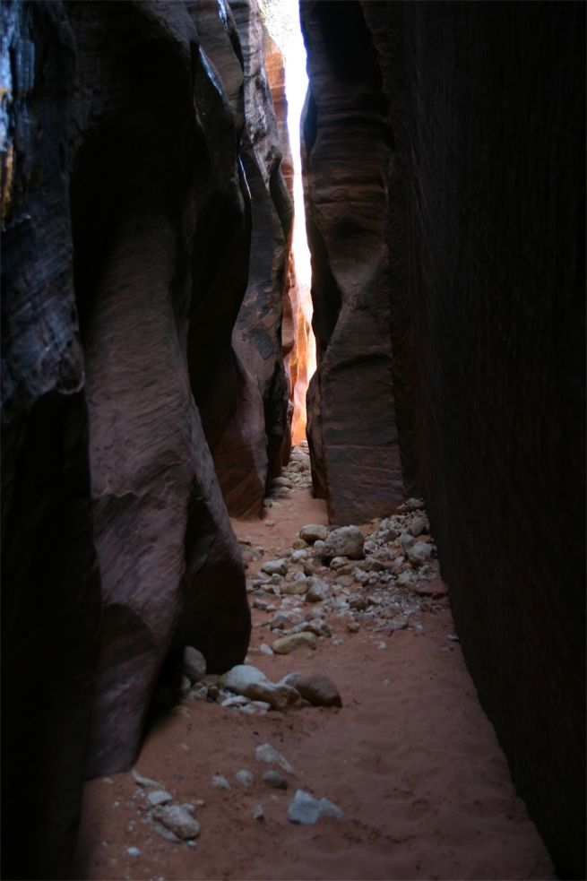 Wirepass Slot Canyon